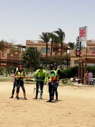 kitesurf courses à Safaga avec ION CLUB