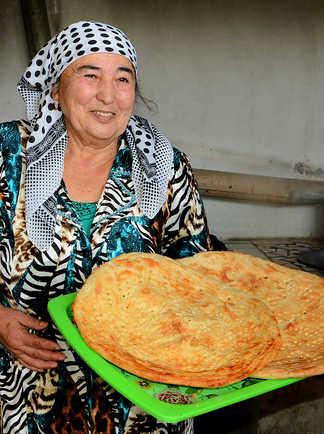 le pain ouzbek