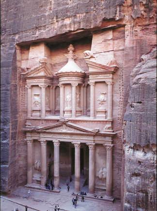 le site de Pétra en Jordanie