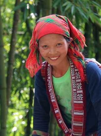 Les Dao rouge, minorité du nord Vietnam
