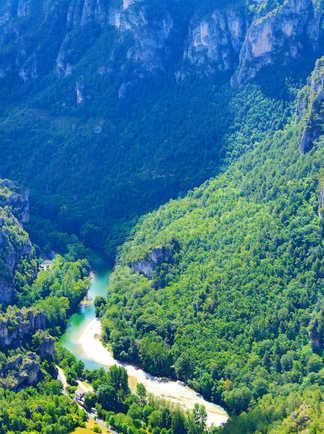 Les gorges du Tarn, Occitanie
