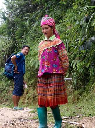 Les minorités du nord Vietnam