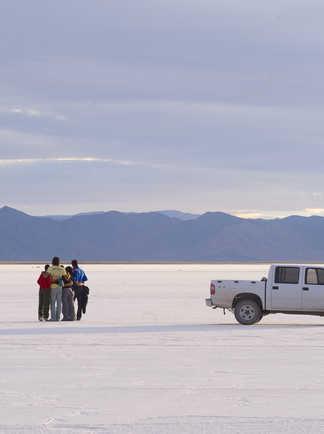 Les Salinas Grandes dans le Nord Ouest Argentin