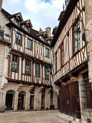 Les maisons à pans de bois à Dijon