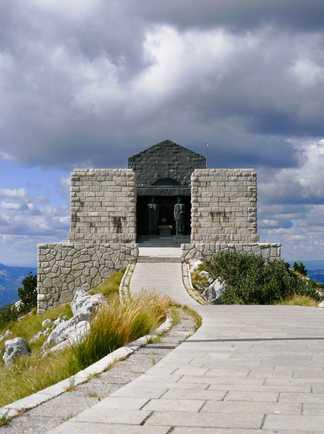 Mausolée Lovcen, Montenegro