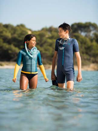 Même les plus jeunes peuvent goûter aux joies du snorkeling
