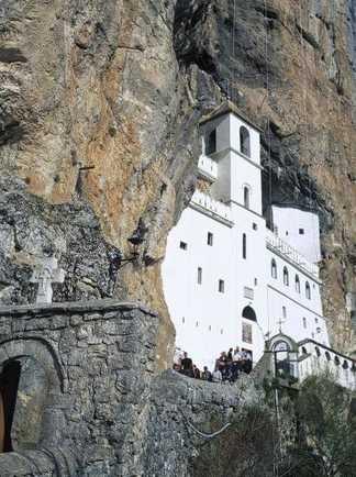Monastère d'Ostrog au Monténégro