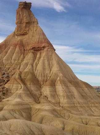 Montagne de Castildetierra dans les Bardenas