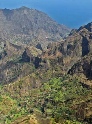 Montagnes et vallées de Santo Antao