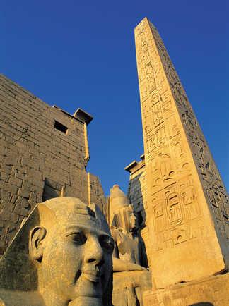 Monuments de Louxor en Egypte
