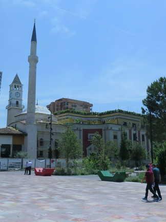 Mosquée de Tirana, Albanie