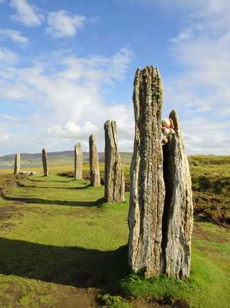 Cercle Brodgar Orcades Ecosse