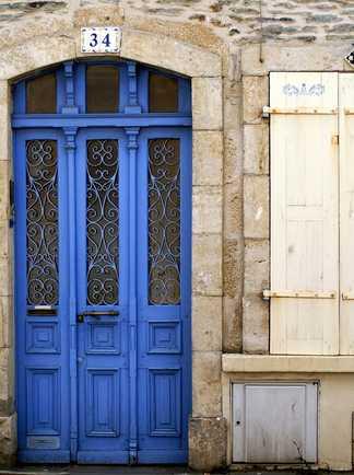Photo d'une façade à Cherbourg, France
