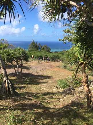 Point de vue sur la mer à Rodrigues