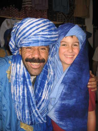 Portrait cheich, Maroc