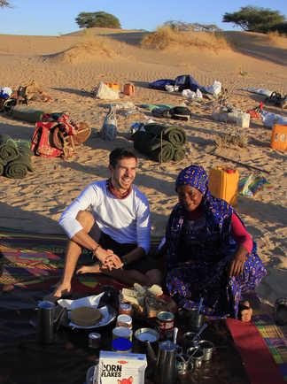 Préparation du repas, Mauritanie
