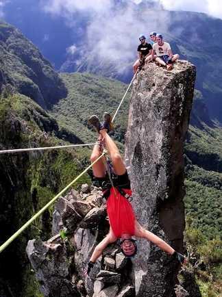 Rando-escalade aux 3 Salazes à la Réunion