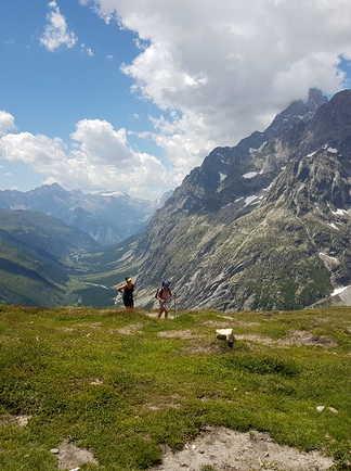 Randonnée du Tour du Mont Blanc