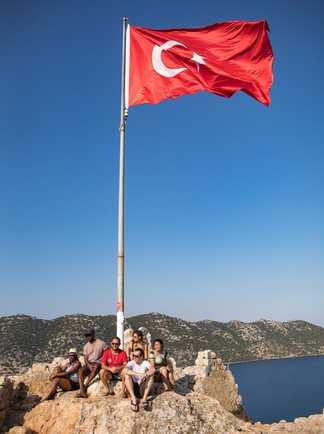 Randonnee en Turquie