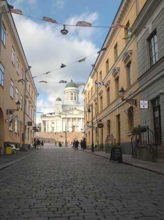 Senate square à Helsinki, Finlande