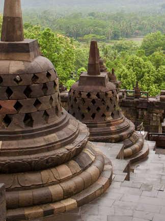 Stupa de temple Borobudur