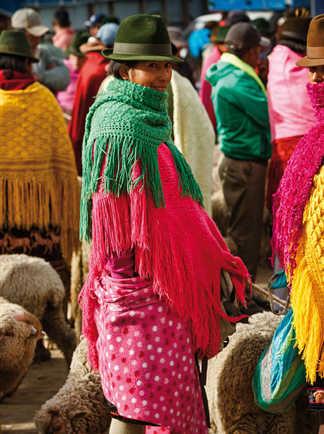 Sur les marchés d'Equateur