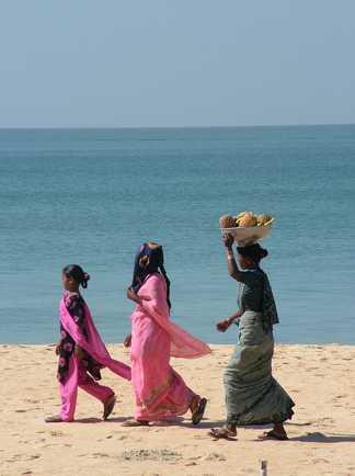 Sur les plages de Goa
