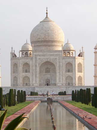 Taj-Mahal-à-Agra-en-Inde