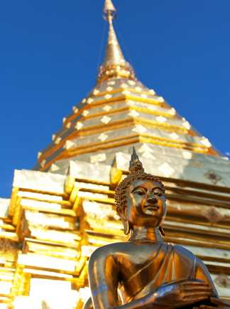Temple Doi Suthep Chiang Mai Thailande