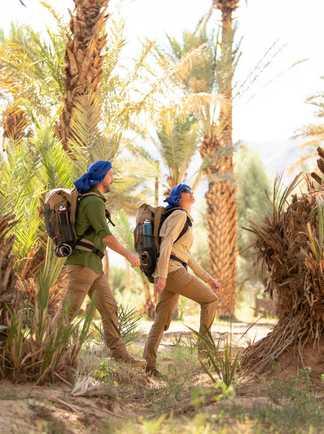 Trek dans le désert marocain