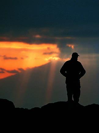 Un soir, au Shira Camp...
