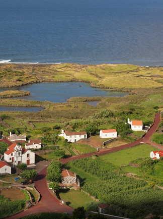 Villages de l'île de Furnas aux Açores