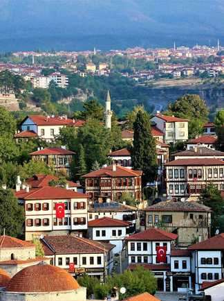 vue sur Safranbolu