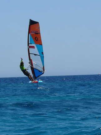 windsurf session à Safaga avec ION CLUB