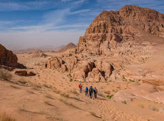 Rando dans le Wadi Rum en Jordanie