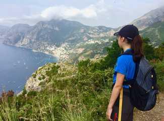 Randonnée sur la côte amalfitaine