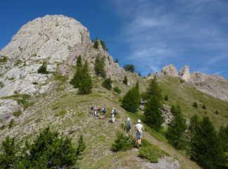 randonnée sur les crêtes de Lamaron, Queyras, alpes du sud