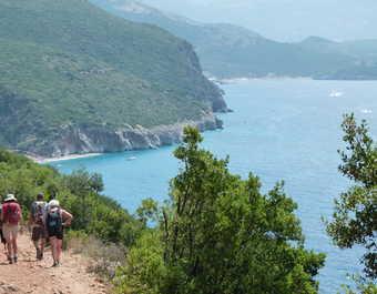 Albanie, cote Ionienne, rando entre Dhermi et Gjipe
