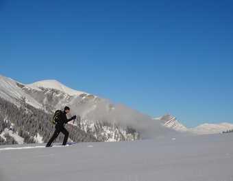 Balade en raquettes dans les Ecrins, Alpes