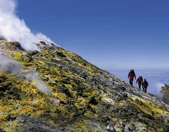 Fumerolles de l'Etna