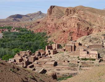Vallée du M'Goun Bou Taghrar Atlas Maroc