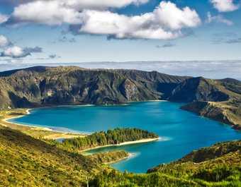 Lago do Fogo sur l'île de São Miguel