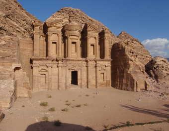 Le Deir en Jordanie