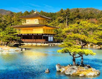 Le pavillon d'or à Kyoto