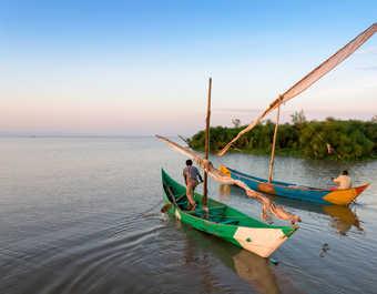 Pêcheurs sur le lac Victoria