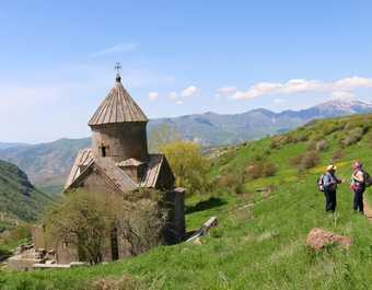 Randonnée monastère de Tsakats Kar Sambataberde