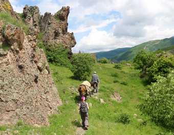 Randonnée village de Koghes