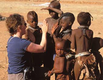 Rencontre avec la tribu des Himbas en Namibie