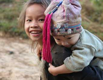trek Laos, voyage nord Laos, ethnies du nord Laos