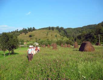 Roumanie, Maramures, randonnée dans la vallée de l'Iza